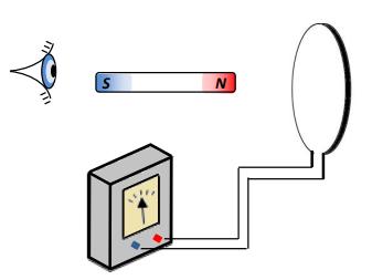 Figura 3. Experiência de Faraday.